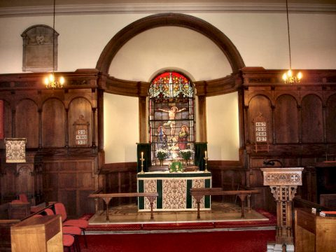 Altar in St Luke's Church