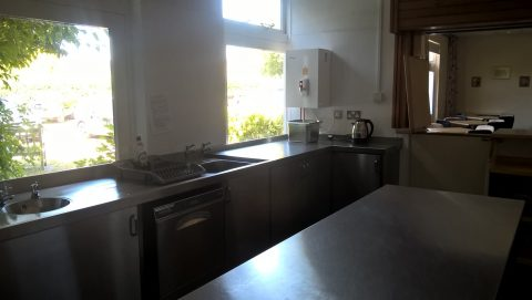 Photo of Village Hall Lounge Bar Servery Kitchen - dishwasher, sink, water boiler