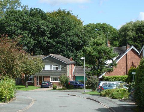 Residential Street in Goostrey