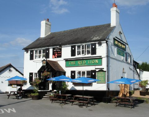 The Red Lion Public House on Station Road