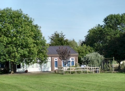Picture of Goostrey School viewed from the School Field