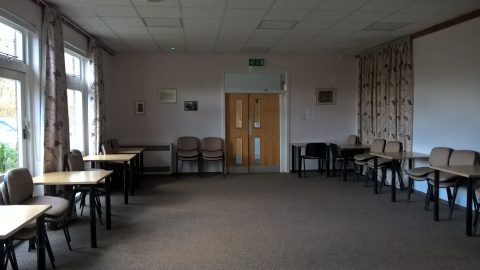 View of the Village Hall Lounge from the bar servery